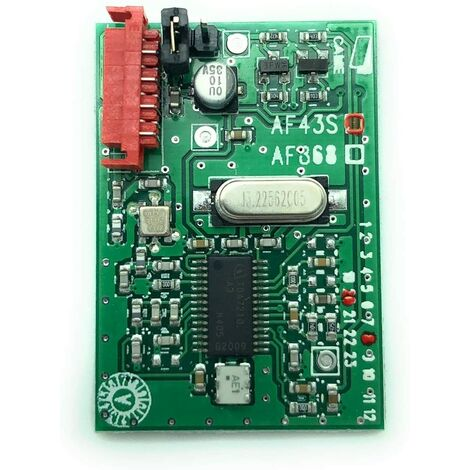 CAME 001AF43S Carte radio embrochable EN 433,92 MHZ