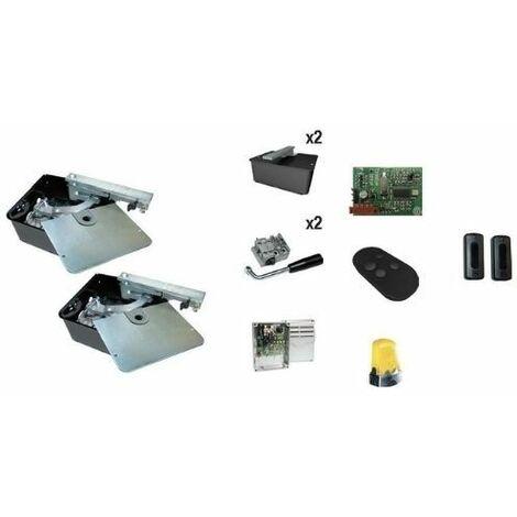 Came 001U1901ML Kit FROG-A Automatisation avec moteurs enterrés pour portails à 3,5mt de porte 400 kg