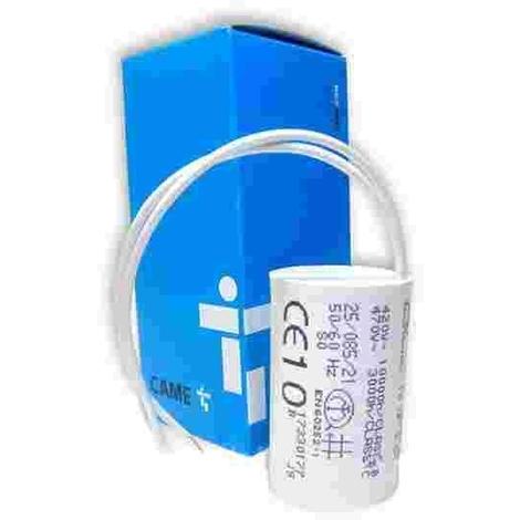 CAME 119RIR295 μF 10 condensateur avec câbles et queue