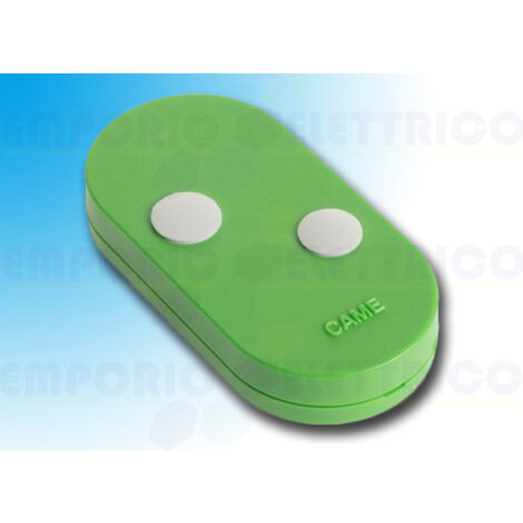 came 2-channel transmitter 433.92/868.35 rolling code green topd2res 806ts-0114