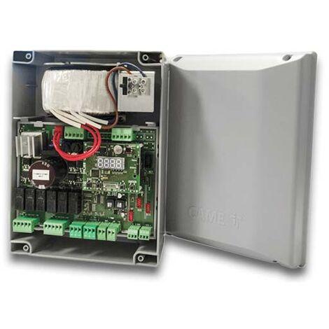 CAME 801QA-0050 ZLX24MA Armoire de commande multifonctions pour portails battants motoréducteu 24V avec afficheur de programmation