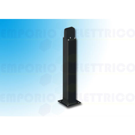 came bidirectional black aluminium post h=0,5 mt 001delta-bn delta-bn