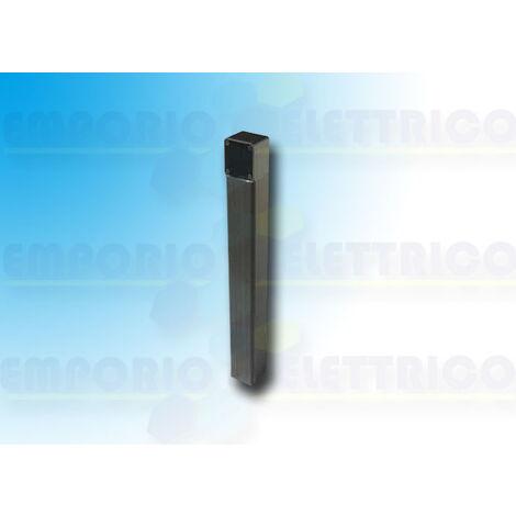 came black aluminium post h=0,5 mt 001doc-ln doc-ln
