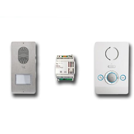 came bpt kit interphone mains libres blanc 001ck0001 ck0001