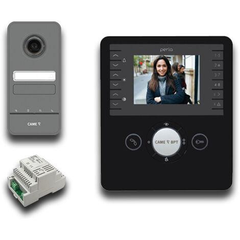 came bpt kit vidéo et audio mains libres 001ck0002 noir ck0002