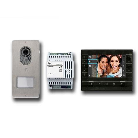 came bpt kit vidéo et audio mains libres luxo 001ck0016fr noir ck0016fr