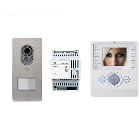 came bpt kit vidéo et audio mains libres bianca 001ck0002 ck0002