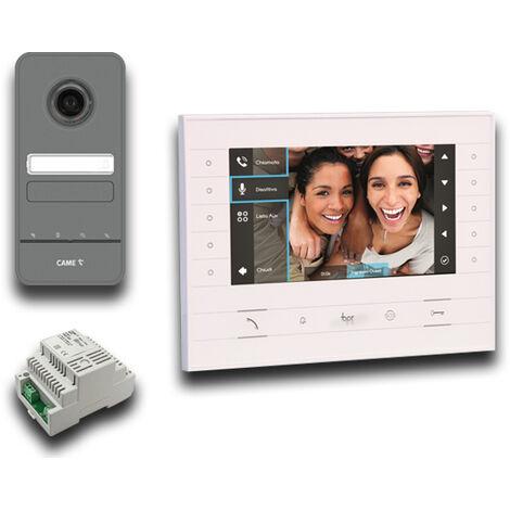 came bpt kit vidéo et audio mains libres luxo 001ck0016fr ck0016fr