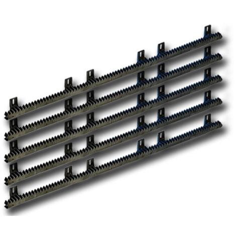 dents Barres Module 4 Crémaillère 30x8 mm pour portails coulissants jusqu/'à 600 kg Torantrieb