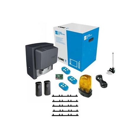 CAME Kit Automatisme de portail coulissant BX-704AGS + 5m cremaillere + 2 top432EE + Antenne Top433EN BX74