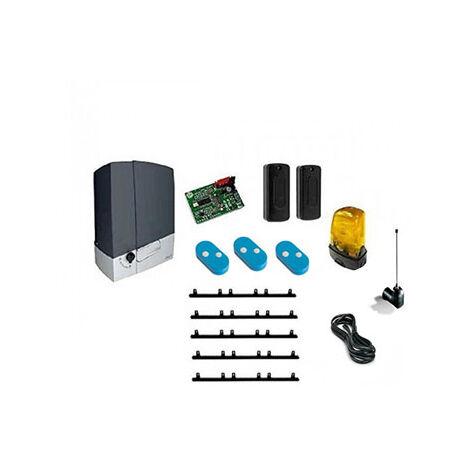 CAME Kit Automatisme de portail coulissant BXL400 + 5m cremaillere + 1 Top432EE