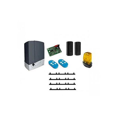 CAME Kit Automatisme de portail coulissant BXV6 + 1 top + 4m cremaillere CONNECT 600KG 24V BXV600