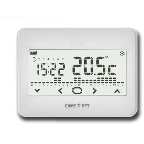 came kit termostato programable + módulo de radio th/550 wh wlrl 845aa-0070