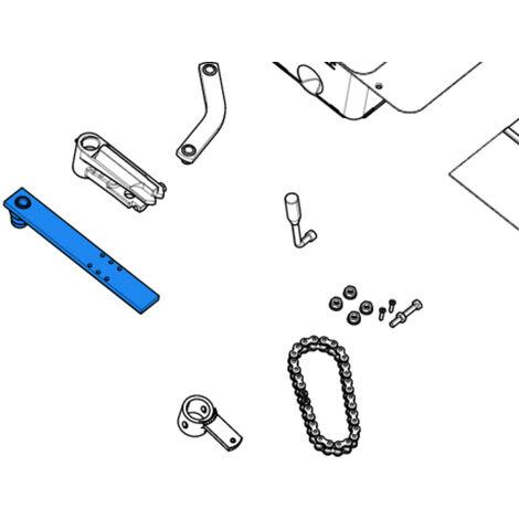came pièce détachée étrier fixation portail pour caisse frog 119ria043