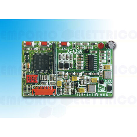 came plug in radio frequency card 433,92mhz 001af43sr af43sr