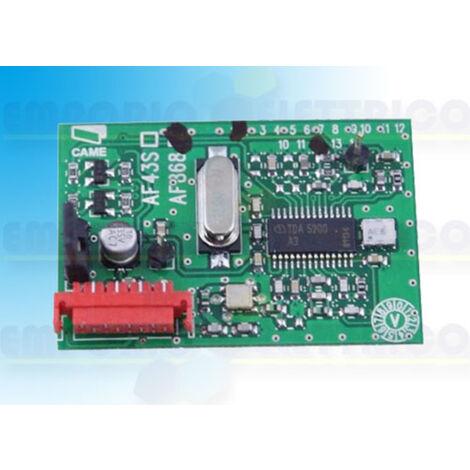 came receiver 868,35 mhz 001af868 af868