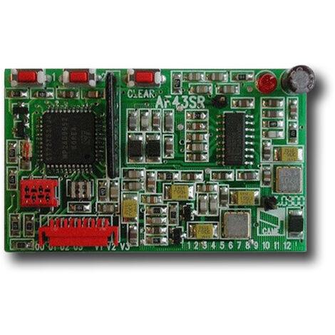 came récepteur 433,92 mhz 001af43sr af43sr