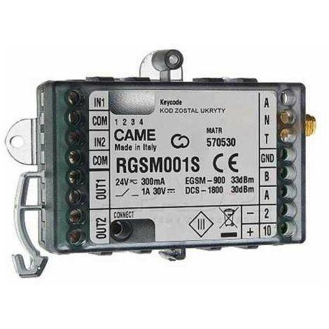 Came RGSM001S autonome module GSM pour la gestion à distance des automation