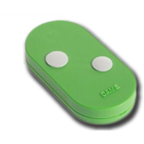 came telecomando 2 canali rolling code verde topd2res 806ts-0114