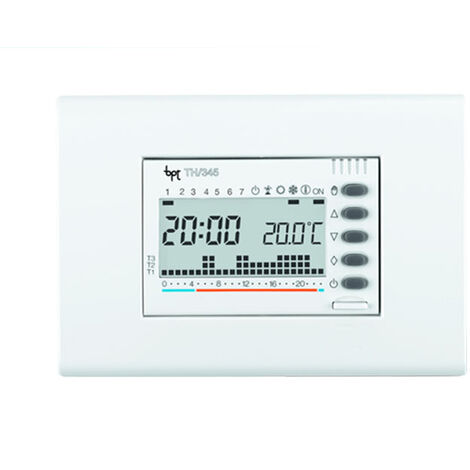 came termostato programable digital para empotrar blanco th/345 bb 69405300