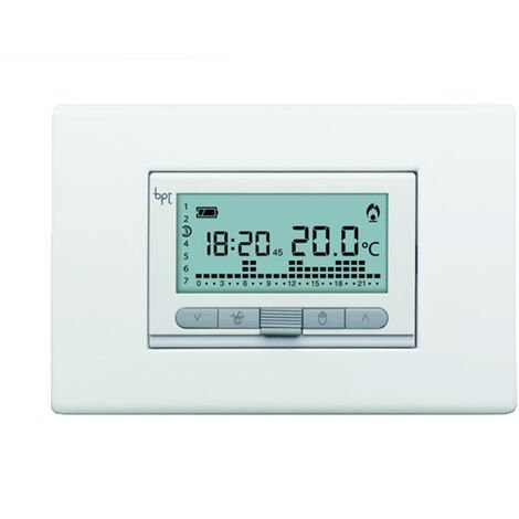 came termostato programable digital para empotrar blanco th/350 69409100
