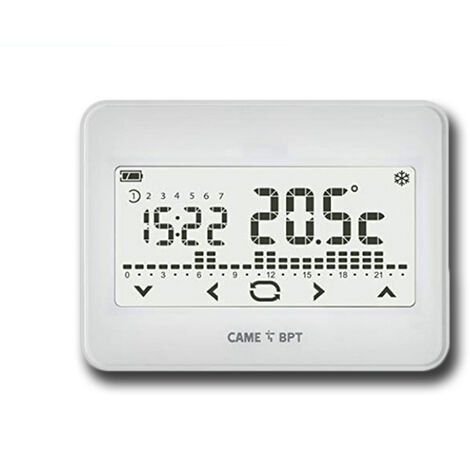 came termostato programable touch screen de pared th/550 wh 845aa-0010
