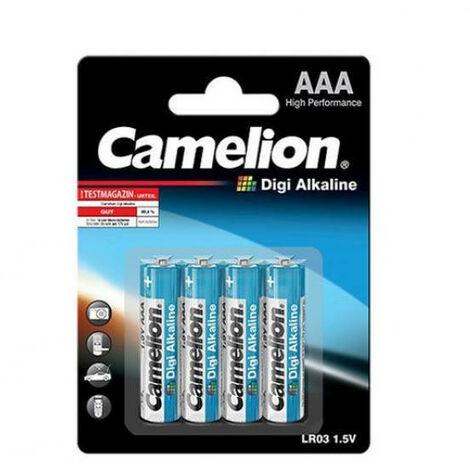 Camelion Alcaline digi aaa / LR3 1.5V (4 pcs/bl) (LR03DC)