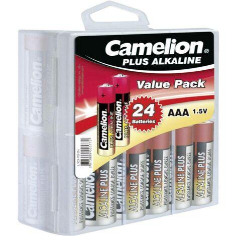 Camelion Plus LR03 Micro (AAA)-Batterie Alkali-Mangan 1250 mAh 1.5V 24St. X37886