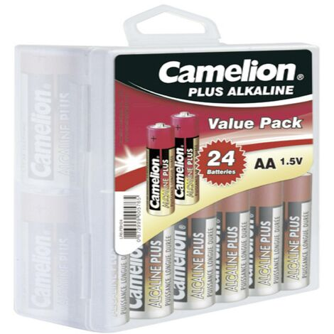 Camelion Plus LR06 Mignon (AA)-Batterie Alkali-Mangan 2800 mAh 1.5V 24St. X37884