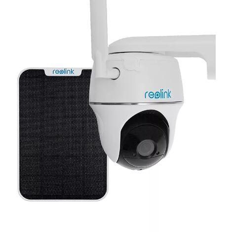 Caméra 4G surveillance stabulation rotative autonome solaire sans fil / IP64 / 1080P / Détecte, enregistre, notifie