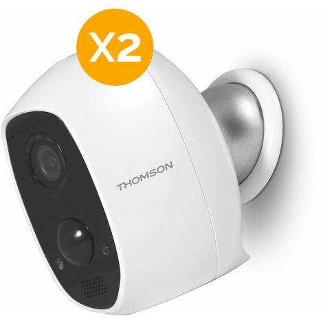 Caméra autonome Full HD - Lens 150 - Thomson - Caméra IP x2