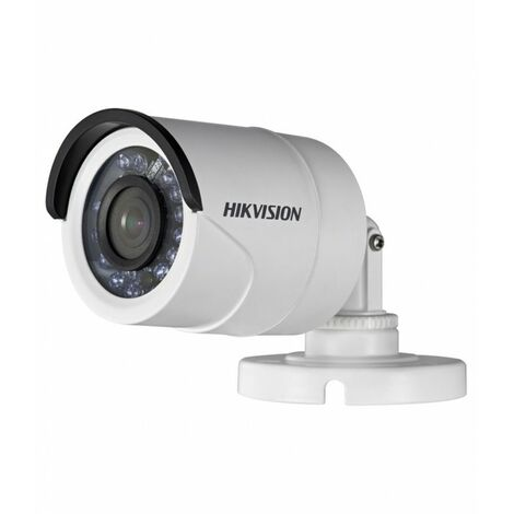 Caméra bullet compacte infrarouge 20m - Turbo HD 1080P - Hikvision - Blanc