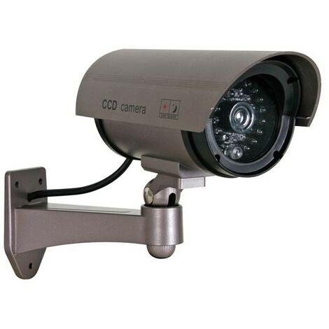 Caméra Bullet Factice Avec Led Rouge