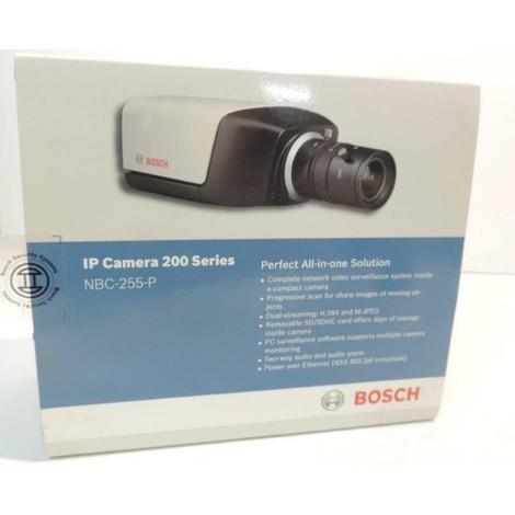 Camera compacte fixe IP integrant système videosurveillance prête à l'emploi carte SD serie 200 BOSCH SECURITY SYSTEMS NBC-255-P