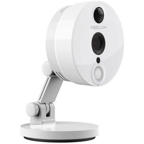 Camera compacte infrarouge 10m - 1080 P - Foscam C2 - Blanche