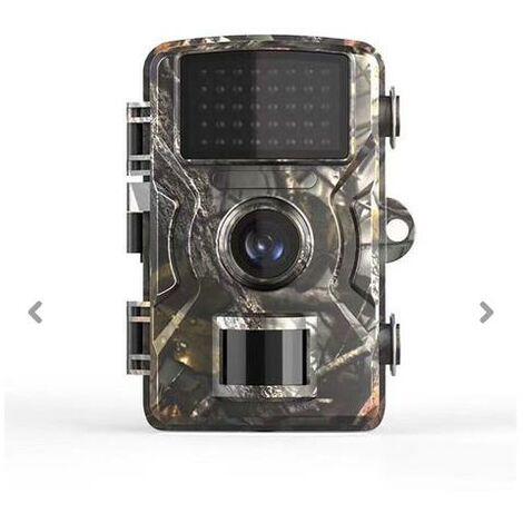 Caméra de Chasse 12MP 1080P IP66 Étanche, Caméra de chasse,Caméra Surveillance avec LED Vision Nocturne Infrarouge Jusqu'à