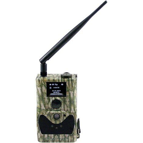 Caméra de chasse Berger & Schröter SG880MK18M/HD 18 Mill. pixel LED noires, télécommande, module GSM, enregistrement sonore camouflage A476211