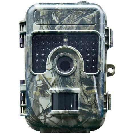 Caméra de Chasse Caméra de Surveillance Étanche 12MP 1080P HD 20m Grand Angle 120° De Vision Traque IR Caméra de Jeu Nocturne Infrarouge