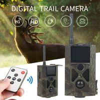 Caméra de chasse HC300M infrarouge 2G 12 MP HD SMS MMS Caméra extérieur pour surveillance