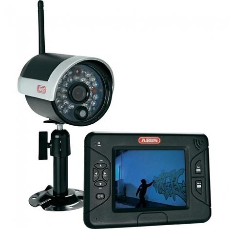 Caméra de protection Abus ecran 3.5'' + caméra ext. TVAC15000