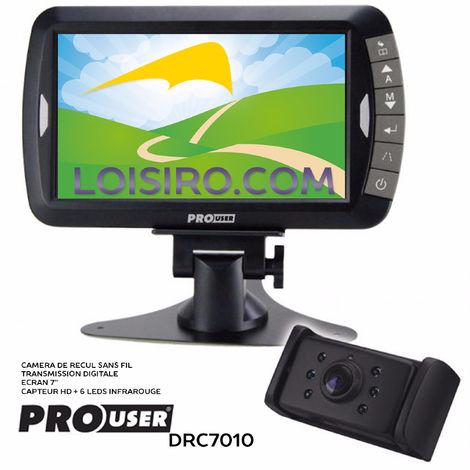 "Caméra De Recul 7"" Sans Fil Digital - Drc7010 De Pro-user Pro User"