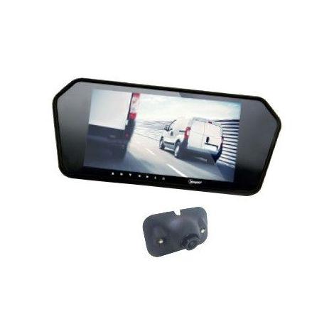 Caméra de recul + écran rétroviseur 7 BEEPER RV7-7W 266.21