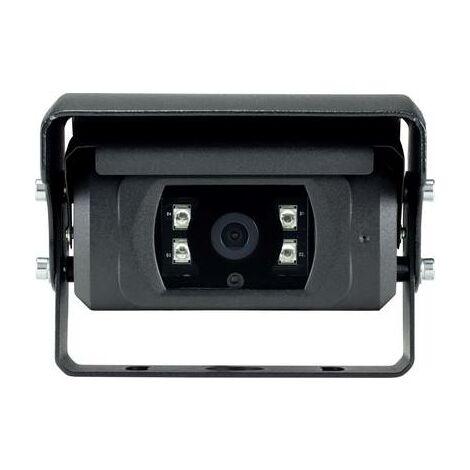 Caméra de recul filaire Basetech BT-2149730 obturateur, compensation automatique des blancs, obturateur automatique, éclairage IR supplémentaire, microphone