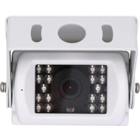 Caméra de recul filaire Blaupunkt RVC 3.0 2009019000001 éclairage IR supplémentaire, microphone intégré blanc 1 pc(s)
