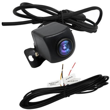 """main image of """"Camera de recul sans fil HD WIFI Camera de recul pour voiture, vehicules, camera de recul WiFi avec vision nocturne, moniteur de recul sans fil LCD etanche IP67, modele : noir 20"""""""