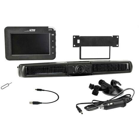 Caméra de recul sans fil ProUser ProUser Solar Rückfahr-Kamerasystem digital 16215 port USB, obturateur F2.0 1 pc(s)