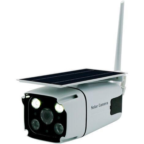 Caméra de surveillance à distance sans fil WIFI/4G, caméra extérieure solaire à faible consommation d'énergie, caméra étanche