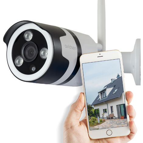 Caméra de surveillance extérieure Avidsen IP Wifi 720 P - Neuf