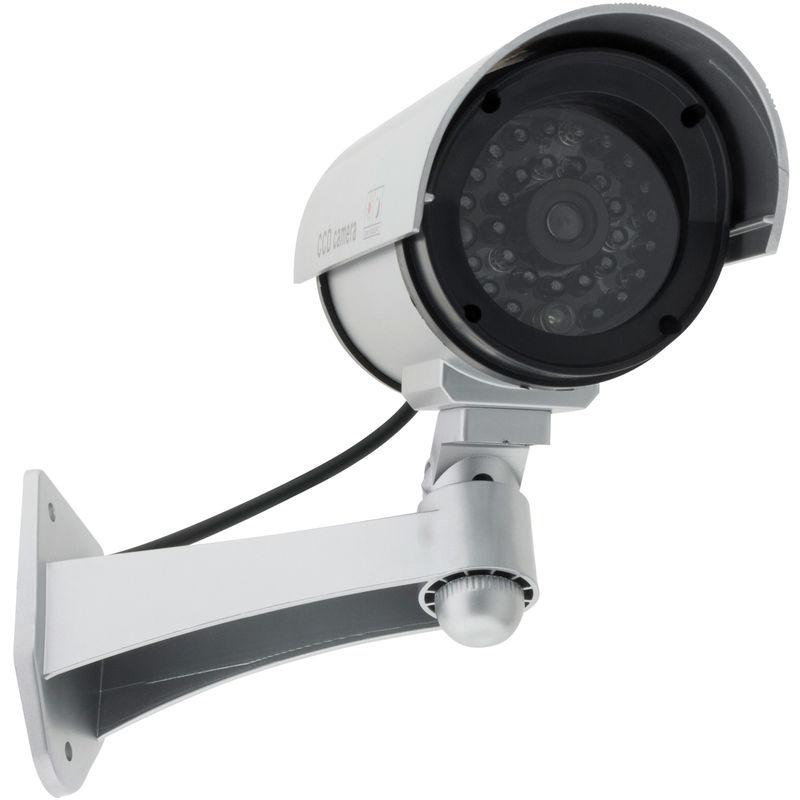 Caméra de surveillance factice avec LED int//ext Otio
