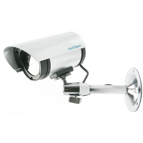 Caméra de surveillance factice avec voyant lumineux Avidsen -